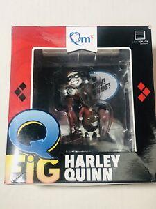 Harley Quinn Vinyl Q-Fig 2016 Loot Crate Exclusive Quantum Mechanix NIB