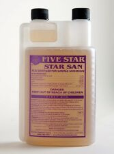 STAR SAN 32 OZ SANITIZER STARSAN NO RINSE STERILIZES HOMEBREW EQUIPMENT QUICKLY