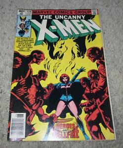 X-men 134 Hellfire VF+ Bryne Art Cyclops Wolverine Nightcrawler Storm LOT MCU