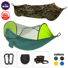 Outdoor Portable Tent Camping Hammock Mosquito Net Rain Cover Waterproof  Bed