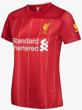 100% Official License 2019/2020 LFC Liverpool FC Supporter Jersey Shirt Women