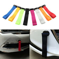 Car Tow Towing Strap Belt Rope Rally Hook Universal Rear/Front Bumper