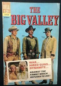 THE BIG VALLEY #2 (1966) Dell Comics TV VG+