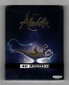 Aladdin 4K Ultra HD Steelbook + 2D Blu-ray NEU&OVP GEPRÄGT Disney Realverfilmung
