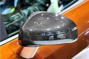 Audi TT/TTS (MK2/8J) S Line Replacement Carbon Fibre Mirror Covers