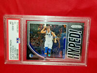 ⭐️2019 Panini Prizm #6 LUKA DONCIC Get Hyped!-Prizm PSA 10 Gem Mint⭐️