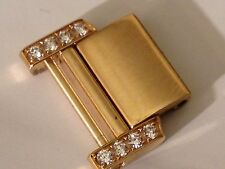 Cartier Tank Francaise OR 18 CT & DIAMANTS Link 15 mm