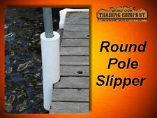 "Round Dock Post Pipe Pole Slipper Cushion Fender fits 2"" pipe API-RPS-2"