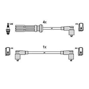 HUCO Ignition Spark Plug Wire KIT Fits VOLVO 740 760 940 2.0-2.3L 1984-1998