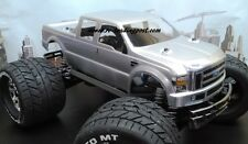 Custom Painted Body 2008 Ford F-250 For 1/10-1/8 RC Monster Trucks T/E-Maxx/Revo