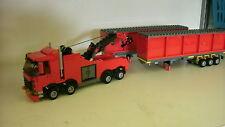 LEGO CITY CUSTOM HEAVY HAULER TOW TRUCK RED L@@K