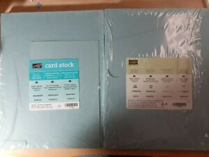 Stampin Up BAJA BREEZE Cardstock 8.5x11 80 lb 27.5 Sheets #111352