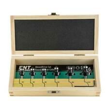 ENT 09001 Abrundfräser Viertelstabfräser -Set HW 6-teilig R 2,3,4,6,8,10 mm