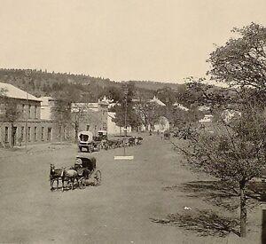 1899 Estampado Colonial South Africa Alto Calle Grahamstown