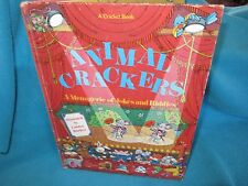ANIMAL CRACKERS ~ Craolyn BRACKEN.  Menagerie Riddles JOKES 1979 Hb  RARE  MELB!