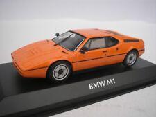 BMW M1 1979 NARANJA 1/43 maxichamps 940025020 NUEVO