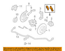 Buick GM OEM 97-00 Regal Brake-Rear-Disc Brake Pads 19286309