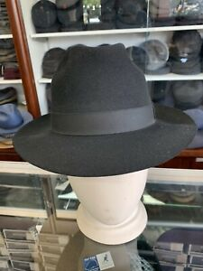 Stetson Colton Vintage Men's Fedora Hat Made In USA Size 7 3/8