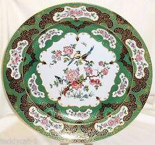AK Kaiser porcellana ~ fasto piatto Manchu 32 cm ~ piatti ornamentali piatto cinese
