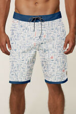 O'Neill GROWLER CRUZER Mens Cotton Poly Boardshorts 32 Red White Blue NEW 2018