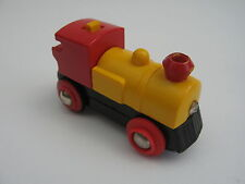 Brio Batteria Motorizzato treno giallo si adatta Ferrovia in Legno Binario Treno Set