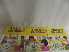 3 JOLLY PHONICS FINGER PHONICS BOARD BOOKS 3,5,7