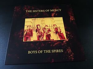 the Sisters Of Mercy - boys of the spires -  lp' - coloured - 50 made