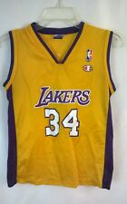 Champion Shaquille O'Neal L.A. Lakers Youth Jersey sz. 10-12