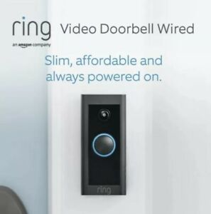 NEW! ✅ RING Video Doorbell Wired by Amazon - HD, Advanced Motion Detection