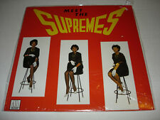 THE SUPREMES Meet The Supremes LP 1982 Motown M5 223V1 rare SEALED