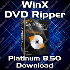 WinX DVD RIPPER PLATINUM 8.5 FULL EDITION 2017 SOFTWARE DOWNLOAD