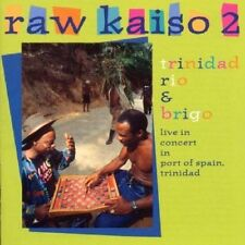 NEW Raw Kaiso 2: Trinidad Rio & Brigo, Live in Concert (Audio CD)