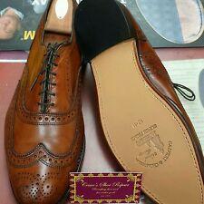 ALLEN EDMONDS Shoe Repair Full Soles and Heels Recrafting Package Service.