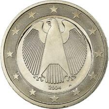 [#851194] Allemagne, 2 Euro, 2004, error with 1€ core, SPL+, Cupro-nickel