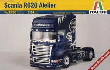 Italeri 3850 1/24 Scale Model Truck Kit Scania R620 Atelier