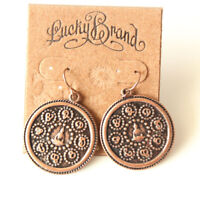 New Lucky Brand Drop Dangle Earrings Gift Vintage Women Party Holiday Jewelry