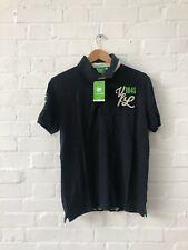 VFL Wolfsburg Men's Logo Polo Shirt - Small - Navy - New