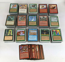 Vintage Lot of 1500+ Magic the Gathering Cards from 1995 1996 MTG