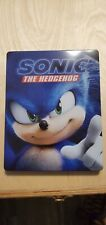 sonic the hedgehog steelbook 4k/bluray/digital No jcard