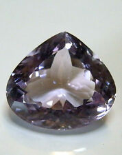 Large natural earth-mined amethyst pear shaped gemstone...28 carat