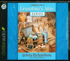 New Sealed GRANDMA'S ATTIC Series Complete 12 CD Audio SET Richardson Homeschool