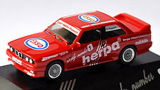 BMW M3 E30 Herpa Simply Number 1 ESSO (Zwirner Duisburg) ROUGE ROUGE 1:87 HERPA
