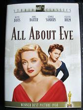 All About Eve, Dvd, 1950 film, 2002 Dvd, Bette Davis, Fox Studio Classics