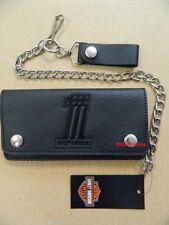 Harley-Davidson Geldbörse Portemonnaie Geldbeutel Wallet Kette/Hartgeld  XML3802