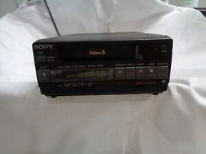 Sony Video 8 Video Casette Recorder EV-C3 Made in Japan