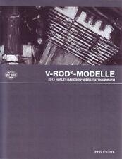 HARLEY-DAVIDSON Werkstatthandbuch 2013 VRSCF V-Rod Muscle Buch DEUTSCH Neu OVP