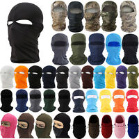 Thermal Fleece Neck Full Face Soft Mask Cycling Motorcycle Ski Balaclava Caps