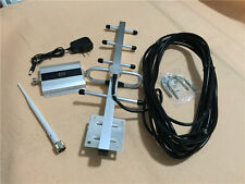 LCD WCDMA 2100Mhz 3G UMTS Booster Cell phone Signal Repeater Amplifier YAGI