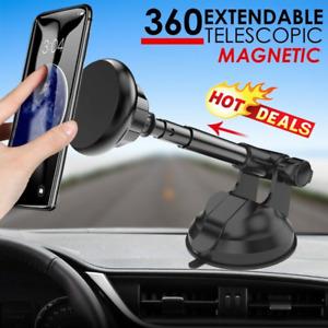 360 CAR PHONE HOLDER UNIVERSAL MOUNT WINDSCREEN DASHBOARD SUCTION MAGNETIC UK