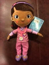 Disney Doc McStuffins Plush Doll Toy 12 inch Scrubs NEW with tags